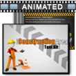 ID# 10751 Construction Area Tool Kit PowerPoint Template