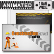 ID# 10803 - Construction Area Tool Kit - PowerPoint Template