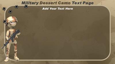 military camo a powerpoint template from. Black Bedroom Furniture Sets. Home Design Ideas