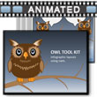 Owl Tool Kit PowerPoint Template