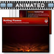 Rolling Flames PowerPoint Template