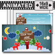 ID# 13522 - Paper Holiday - PowerPoint Template