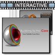 Sliced Sphere Layers And Core PowerPoint Template