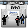 Business Workforce PowerPoint Template