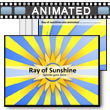 Ray of Sunshine PowerPoint Template