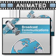 Broadcast Communications PowerPoint Template