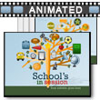 School's In Session PowerPoint Template