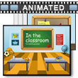 In The Classroom PowerPoint Template