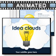 Idea Clouds PowerPoint Template