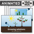 ID# 15395 - Growing Solutions - PowerPoint Template
