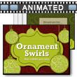 Ornament Swirls PowerPoint Template