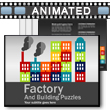 Factory Puzzles PowerPoint Template