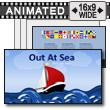 Out At Sea PowerPoint Template