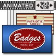 Badges Tool Kit PowerPoint Template