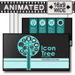 Icon Tree PowerPoint Template