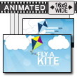 Fly A Kite PowerPoint Template