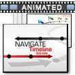 Navigate Timeline PowerPoint Template