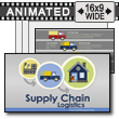 Supply Chain Logistics PowerPoint Template