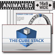 Cube Stacks PowerPoint Template