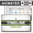 A Timeline Toolkit PowerPoint Template
