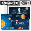 Space Calculations PowerPoint Template