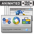 Puzzle Diagrams PowerPoint Template