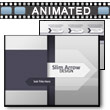 Slim Arrow Design PowerPoint Template