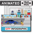 City Infographic PowerPoint Template