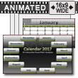 2017 Interactive Calendar PowerPoint Template