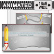 Education Infographic Pencil PowerPoint Template