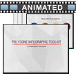 Polygon Infographic Toolkit PowerPoint Template