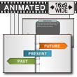 Past Present Future PowerPoint Template