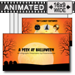 Peek At Halloween PowerPoint Template