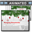 Hanging Ornaments PowerPoint Template