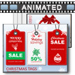 Christmas Tags PowerPoint Template