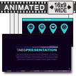 Tab Presentation Navigation PowerPoint Template