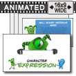 Character Expression PowerPoint Template