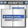 Sliding Info Panels PowerPoint Template