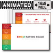 Left Side Emoji Rating Toolkit PowerPoint Template