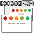 Face Emoji Rating Toolkit PowerPoint Template