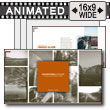 Adventures Outdoor Image Layout PowerPoint Template