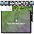 Garden Image Layout Template PowerPoint Template