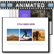 Simple Image Layout PowerPoint Template