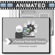 Factory Product Process PowerPoint Template