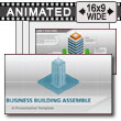 Office Building Assemble PowerPoint Template