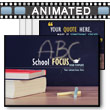 School Focus PowerPoint Template