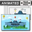 Mountain Peaks PowerPoint Template