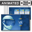 Vr Exploration PowerPoint Template