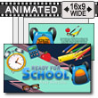 Ready For School PowerPoint Template