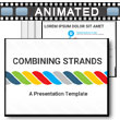 Combining Strands PowerPoint Template